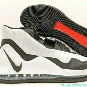 Nike Air Force Max Basketball Shoes White NIB